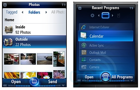 Windows Mobile 7 Mockups