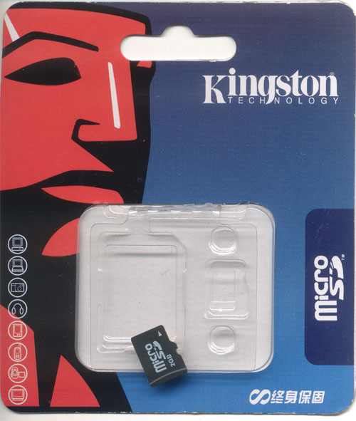Kingston MicroSD Package