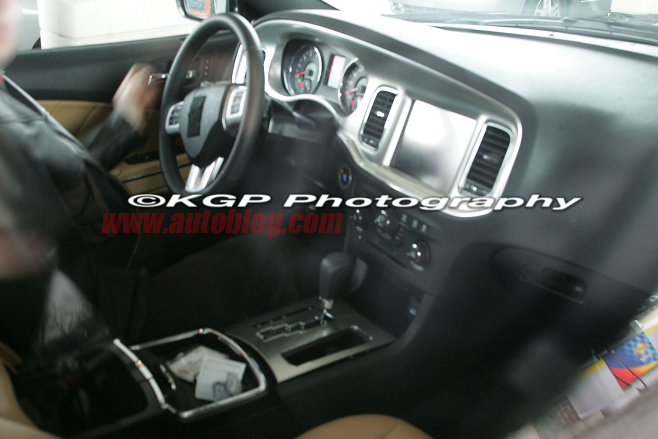 Spied: 2011 Dodge Charger Interior
