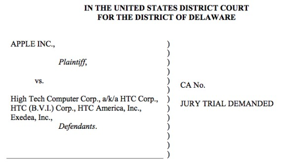 Apple HTC Lawsuit