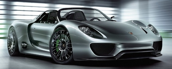 Porsche 918 Spyder Concept