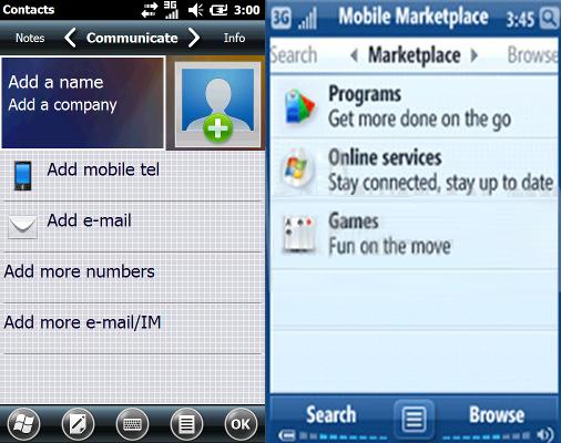 windows mobile 6.1 vs windows ce 5.0