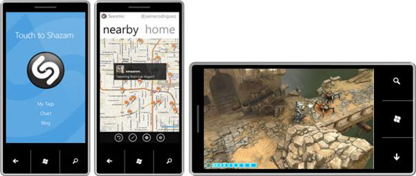 Windows Phone 7 Applications