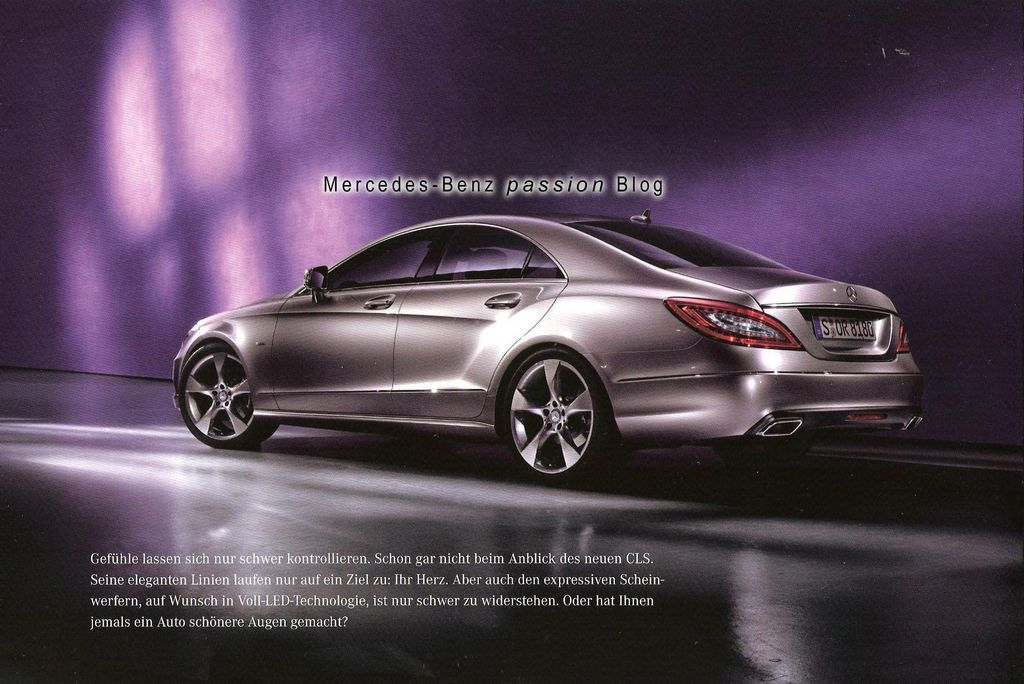 Leaked 2011 mercedes benz cls techautos for Mercedes benz cls550 2011