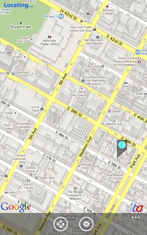 TA Maps: Google Maps for Windows Phone 7 – TechAutos on