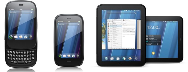 HP launches new WebOS phones, TouchPad tablet