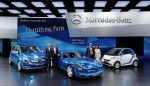 Mercedes-Benz auf dem Automobilsalon in Paris 2012
