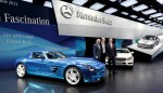 Mercedes-Benz und smart auf dem Mondial de l'Automobile 2012 i