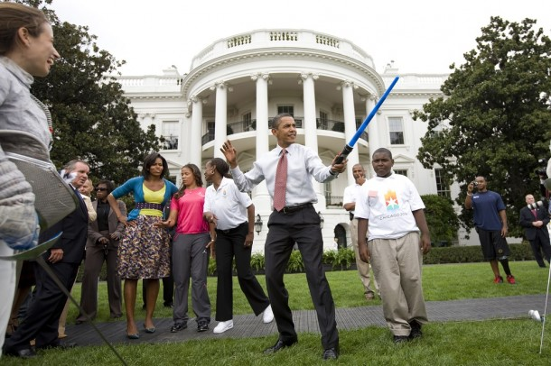 Obama Lightsaber