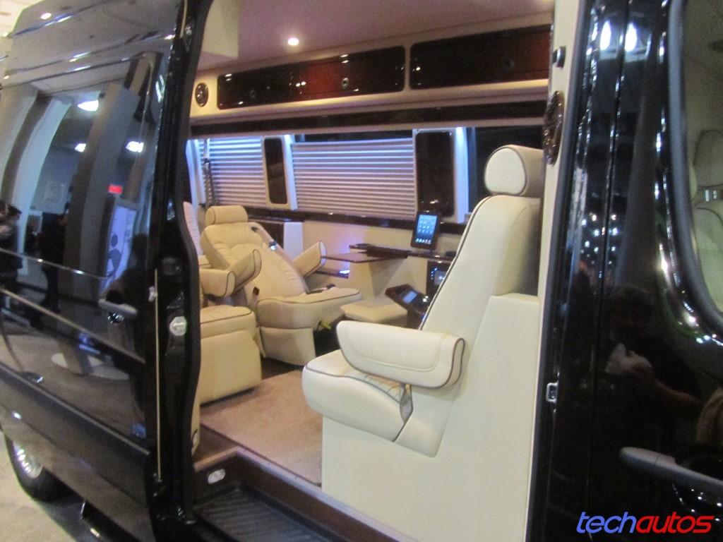Mercedes Sprinter That S A Passable Interior I D Say