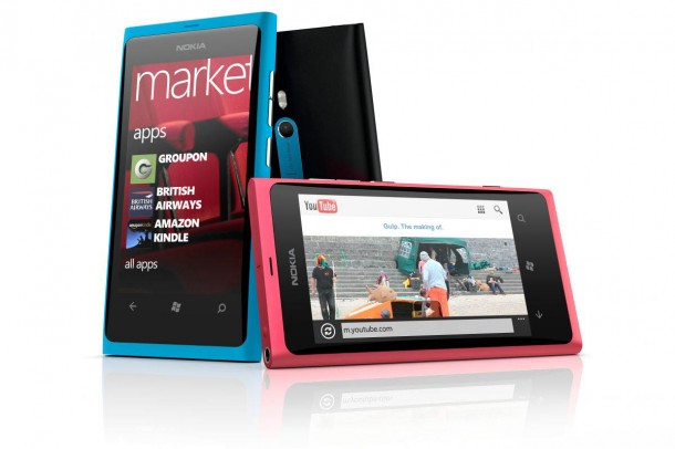 Announced in October 2011, the Lumia 800 was Nokia's first Windows Phone